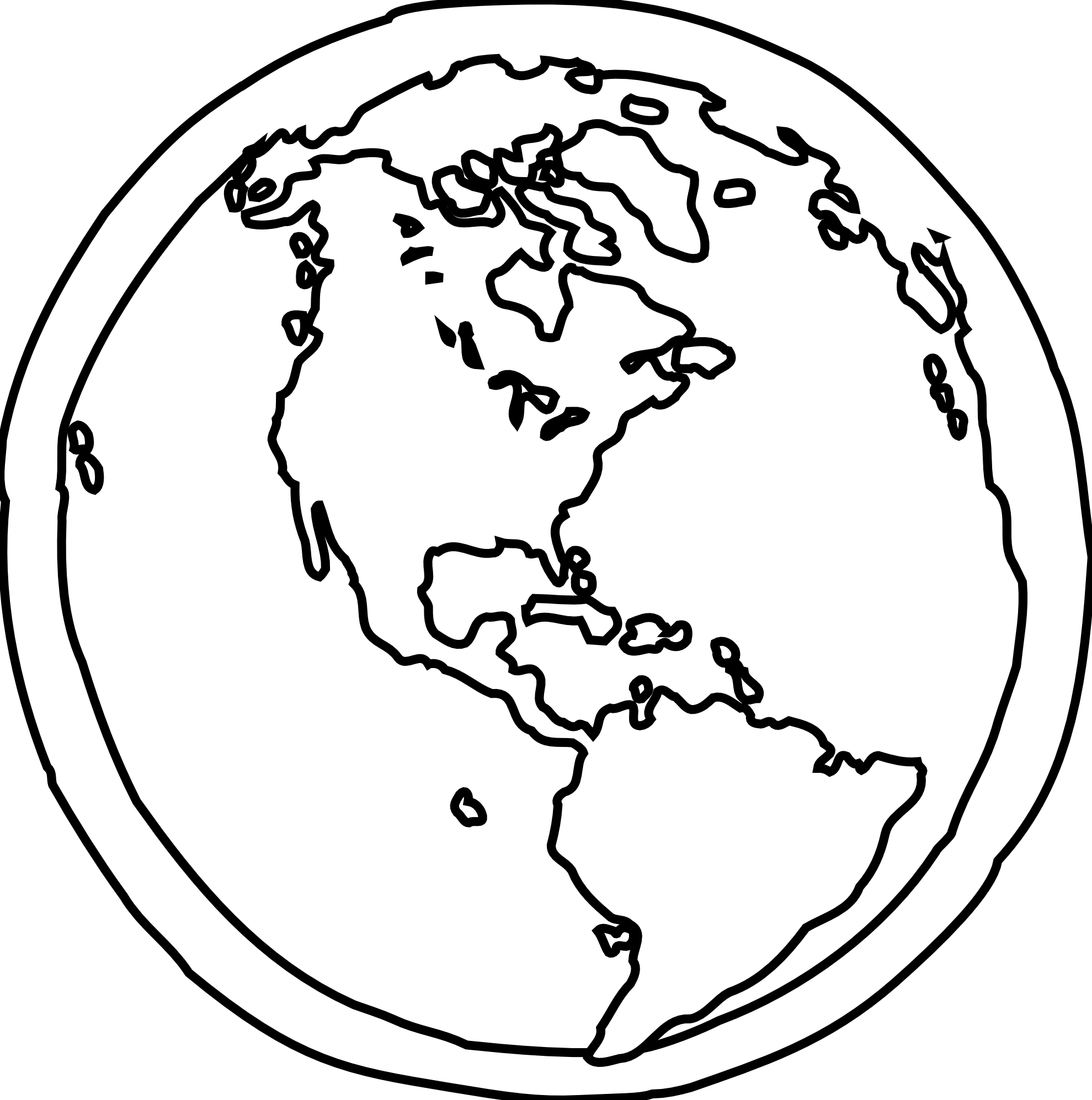 Vector And Earth Black And White Free Download Free 8328 Favorite. Planet  Earth Black Clipart