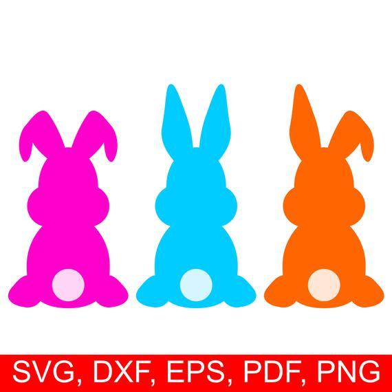 Easter Bunny SVG, Easter Bunny DXF, Easter Bunny Clipart, Easter Bunny  Printable, Easter Rabbit SVG, Easter Bunnies Svg, Easter Svg files.