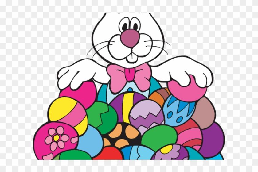 Easter Basket Bunny Clipart Png.