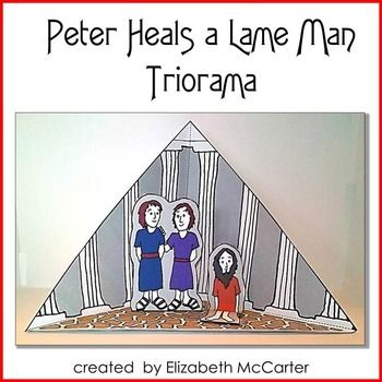 17 Best images about Peter & John Lame Man Healed on Pinterest.