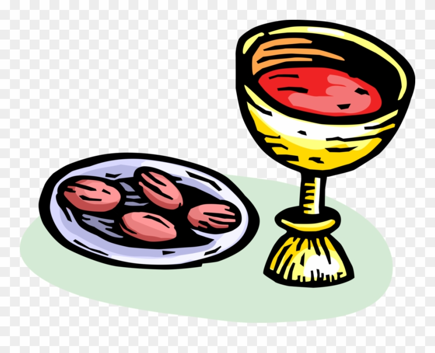Communion Clipart The Last Supper.