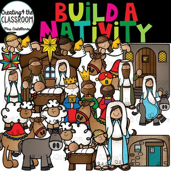 Build a Nativity Clipart {Nativity Clipart}.