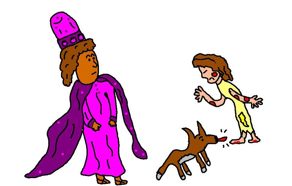 Clipart Of The Parable Of The Rich Man.