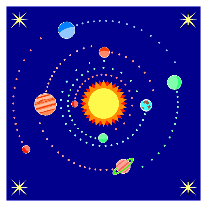 Planets Live Clipart.