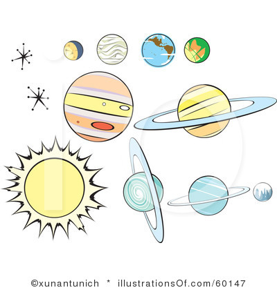 Planets Clip Art Free.