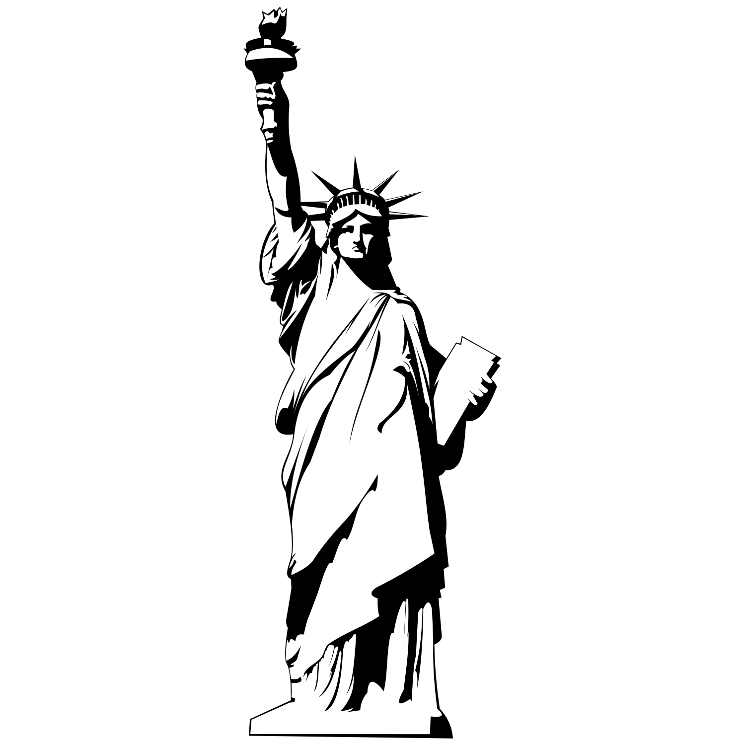 Statue of liberty clipart 5 » Clipart Station.