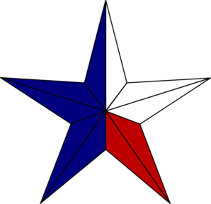 Blank texas flag clipart clipartcow.