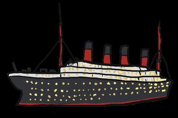 titanic clip art.