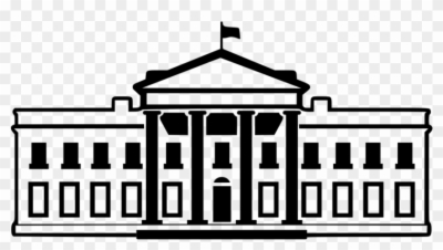 white house , Free clipart download.