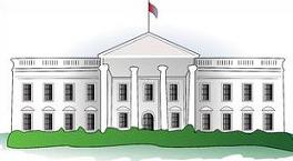 The White House Clipart.