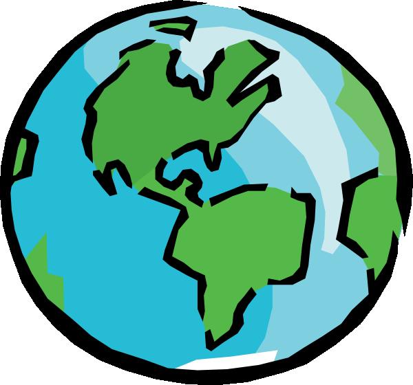 World Globe Clipart.