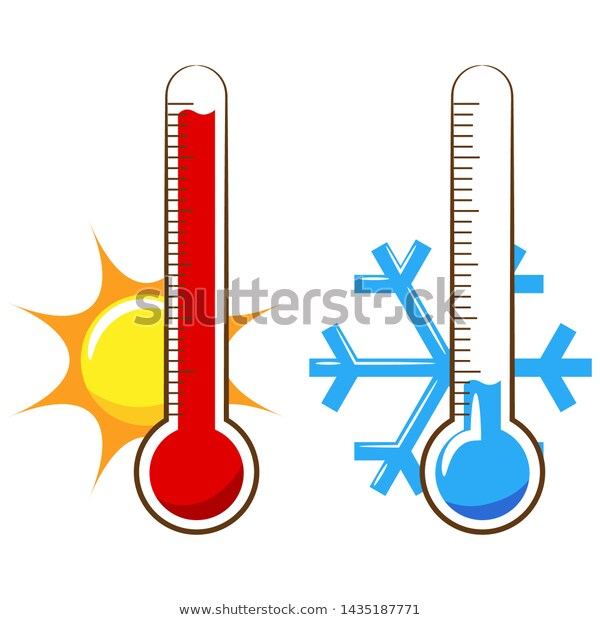 thermometer clipart ,thermometer vector ,thermometer design.
