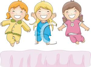 Three Girls Clipart.