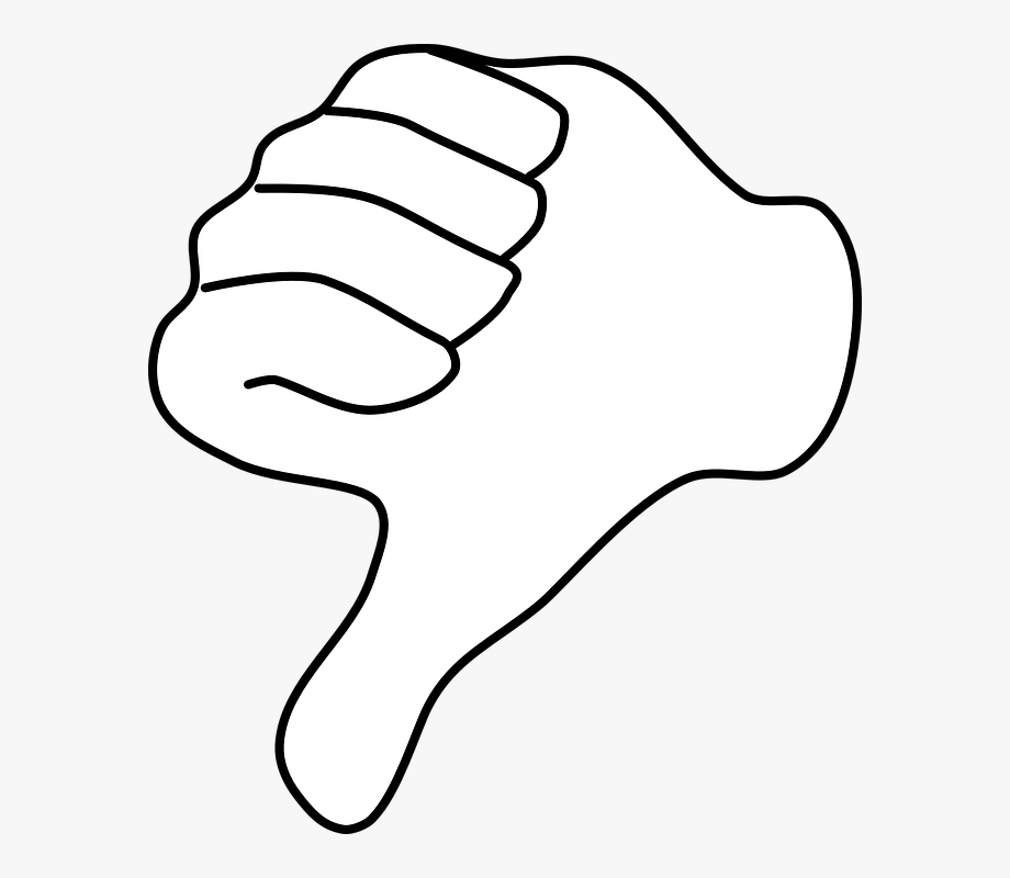 Thumbs Up And Down Clipart.