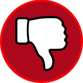 Download clipart thumbs down.