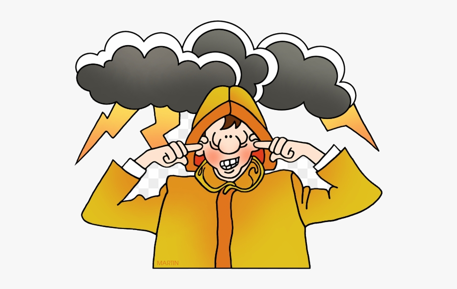 Thunder And Lightning Clipart , Transparent Cartoon, Free.