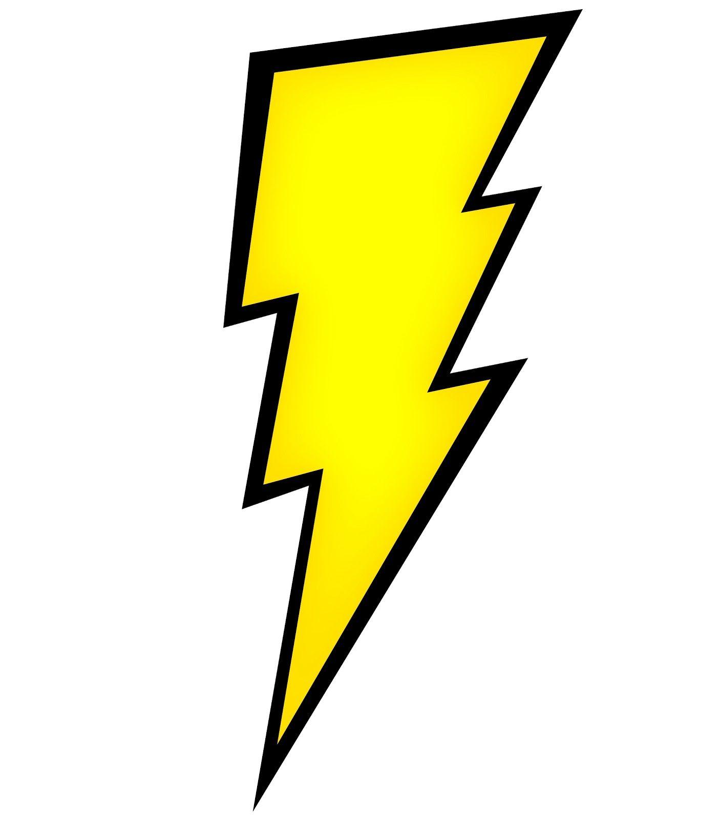 free lightning bolt clipart images.