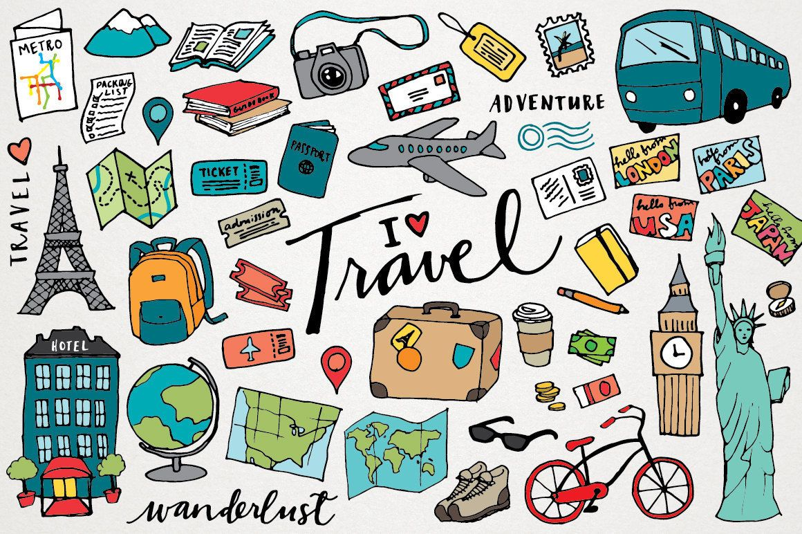 Travel Clipart.