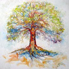 Birthday Tree Of Life Clipart.