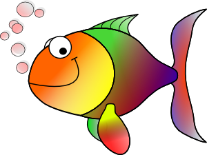 Free Fish Clipart, Tropical Fish, Star Fish, Cartoon Fish Clip Art.