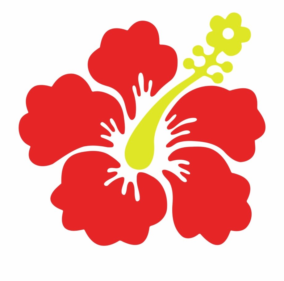 Hawaiian Clipart Flower Hawaii.