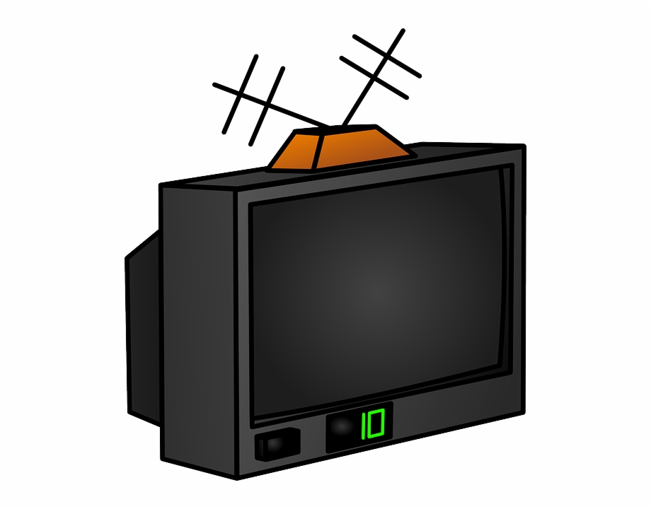 Old Television Clipart.