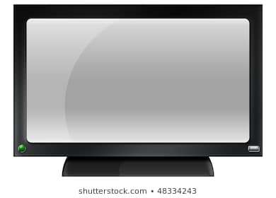 Flat screen tv clipart 1 » Clipart Station.