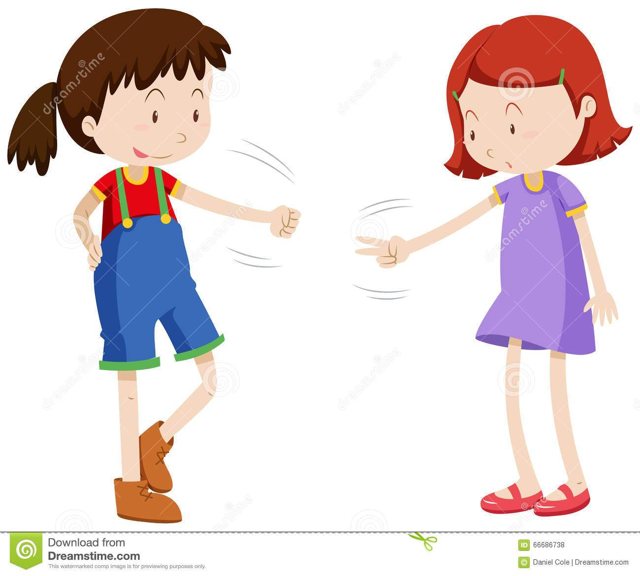 Two girls playing clipart 2 » Clipart Portal.