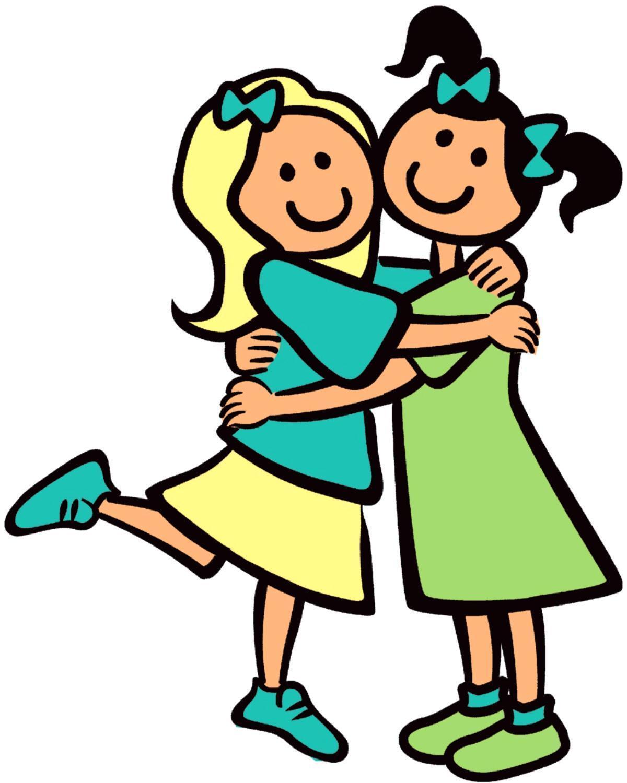 Free Two Girls Cartoon, Download Free Clip Art, Free Clip Art on.