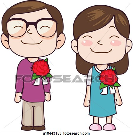 Clip Art Two People Clipart.
