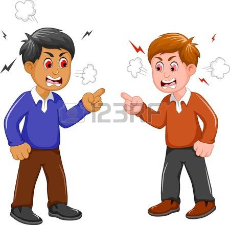 2,719 People Arguing Stock Vector Illustration And Royalty Free.