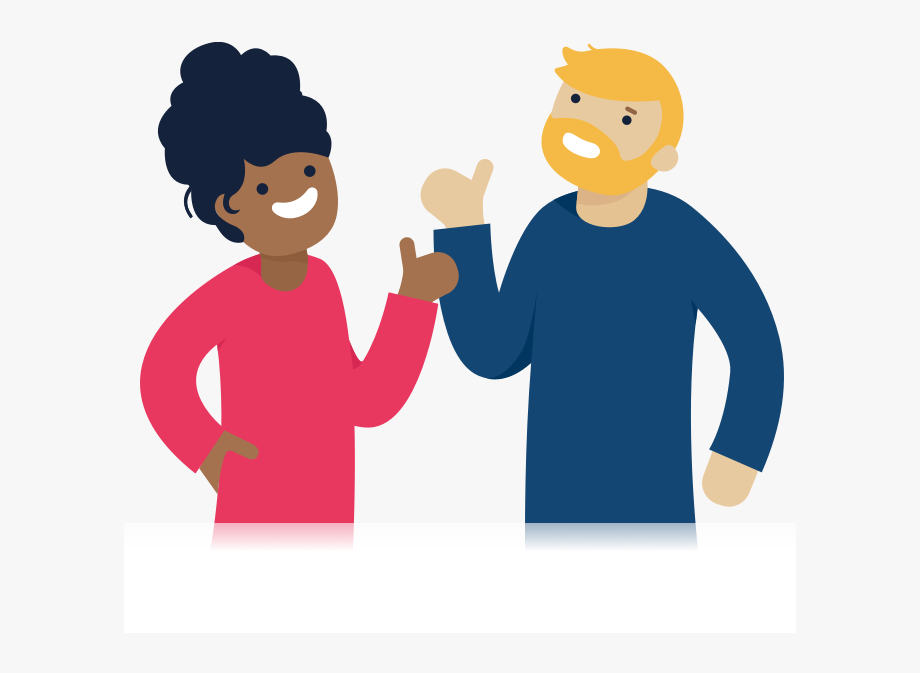 Two People Clipart Transparent.