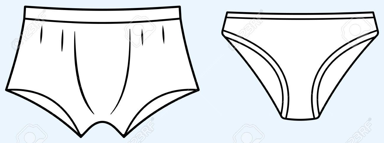 clipart of underwear - Clipground