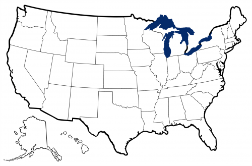 Clipart Of United States Map Outline.
