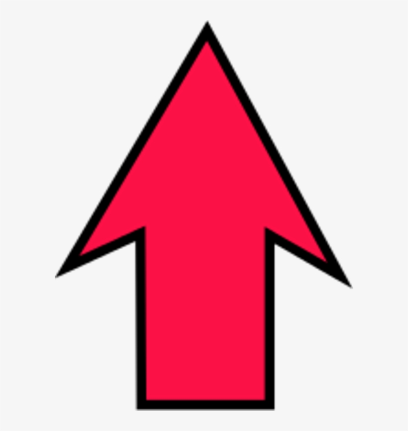 Arrow Pointing Up Upwards Clipart.