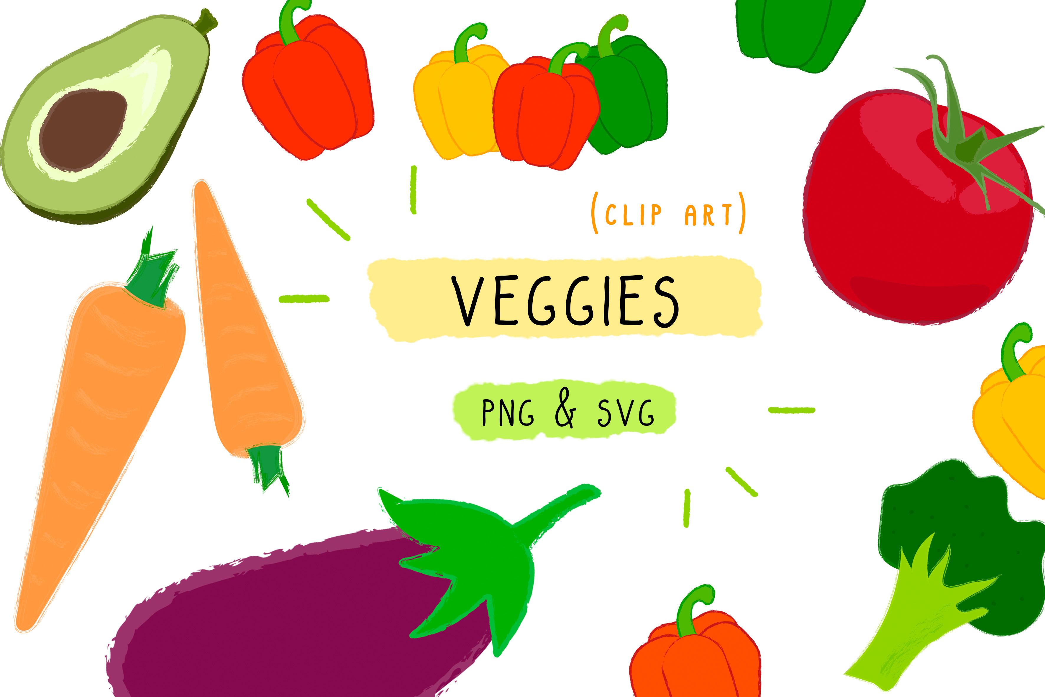 Veggies Vegan Food Clipart Vegetables.