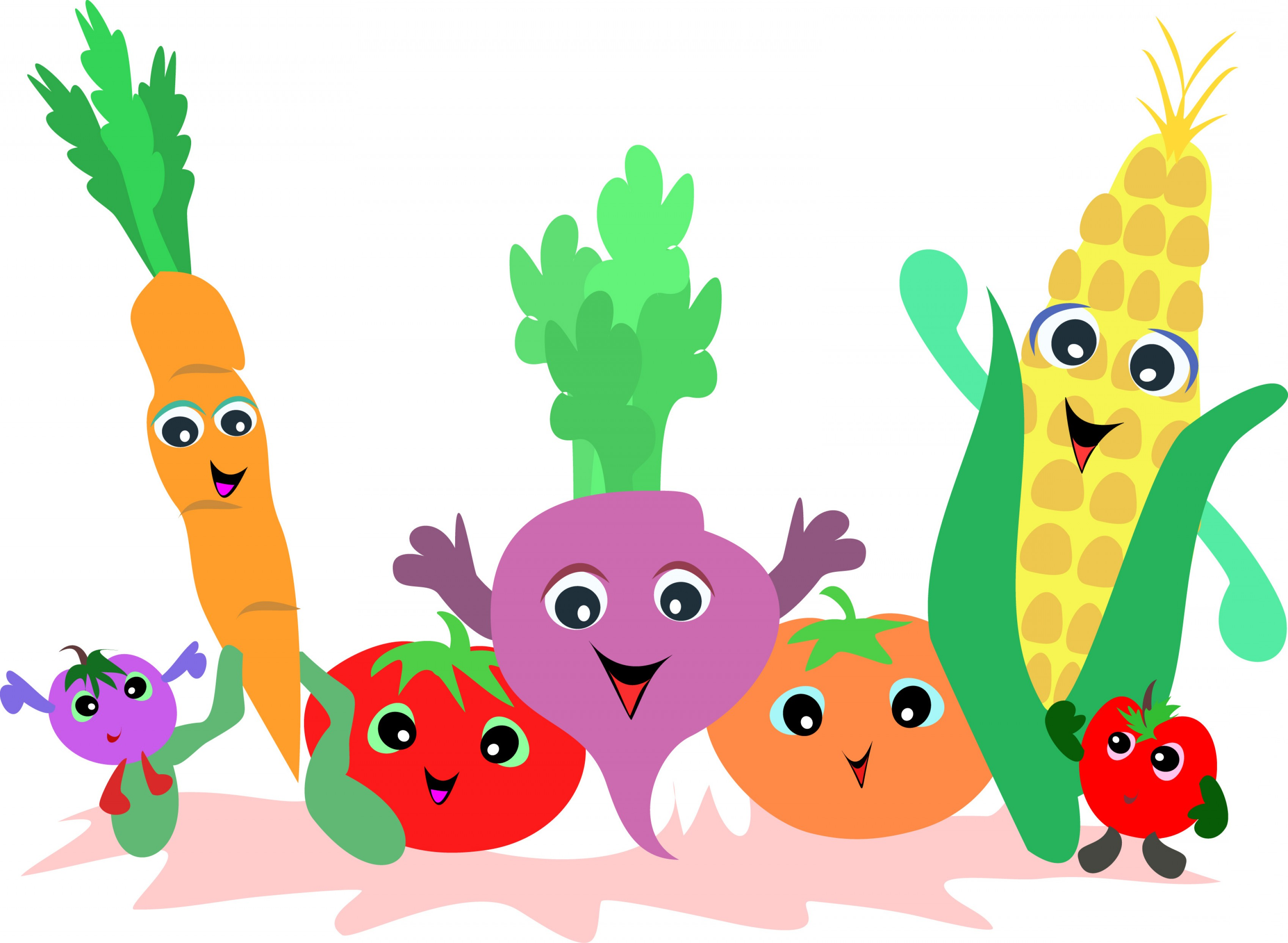 6184 Vegetables free clipart.