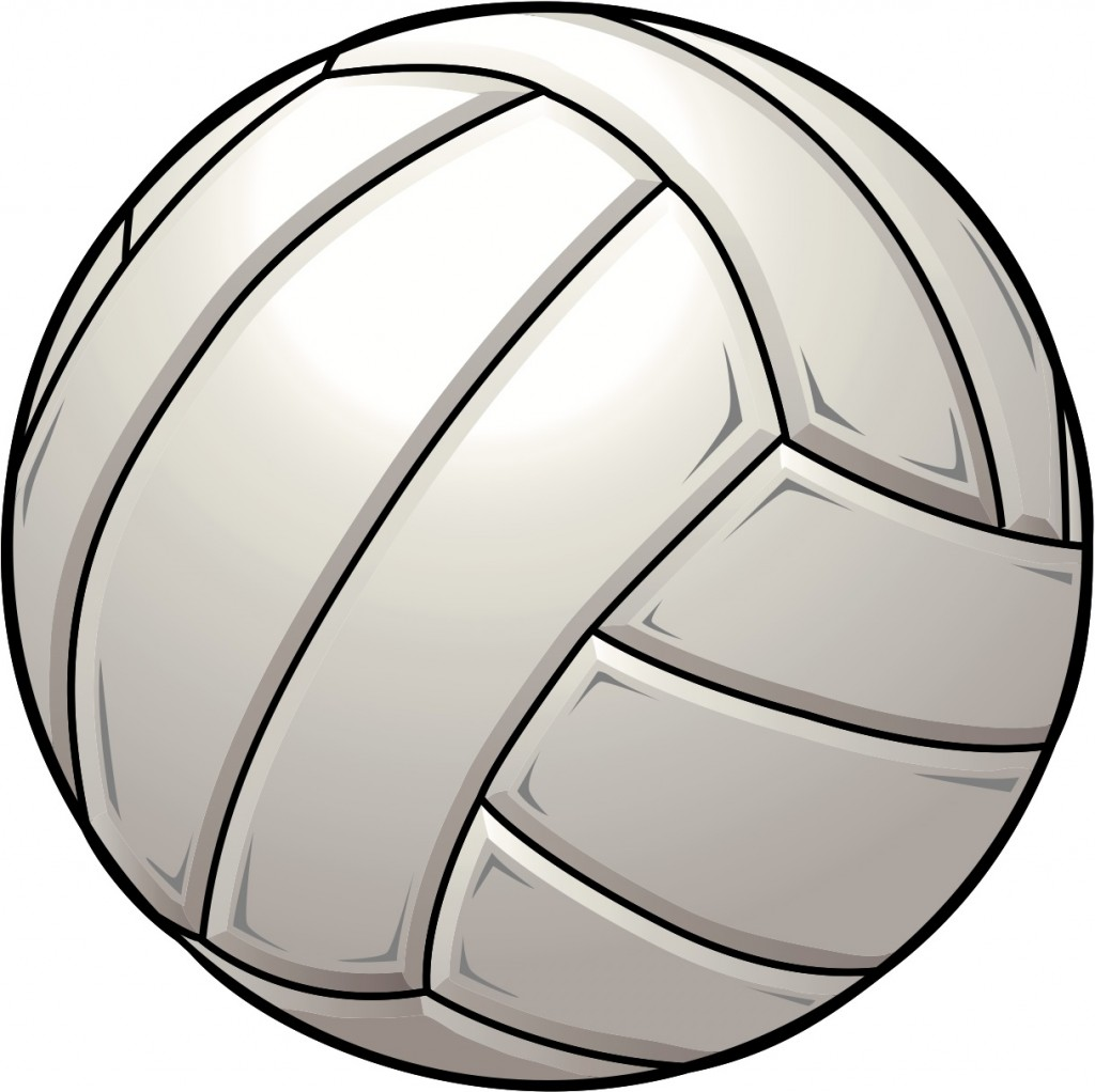 Free Clipart Of Volleyball.