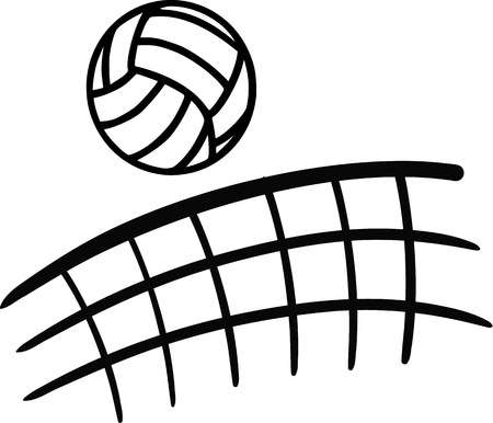 Clipart volleyball 6 » Clipart Station.