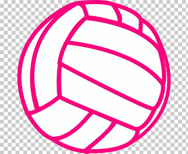 Volleyball Sport Black , Dig Pink s PNG clipart.