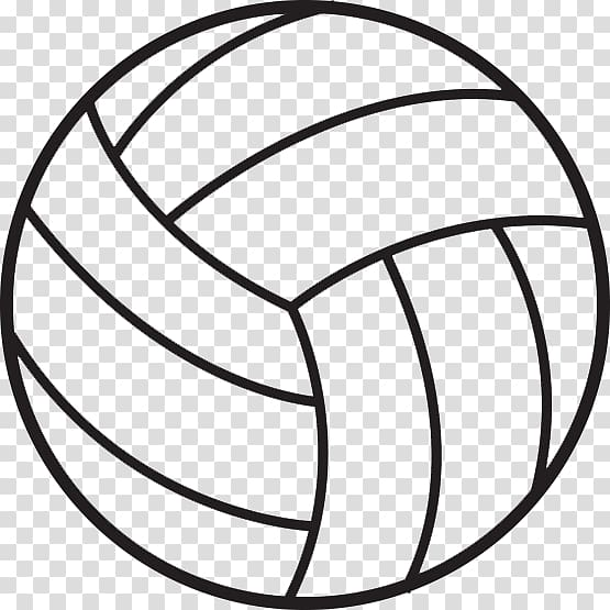 Clipart volleyball simple, Clipart volleyball simple.