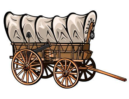 Pioneer wagon clipart 1 » Clipart Station.