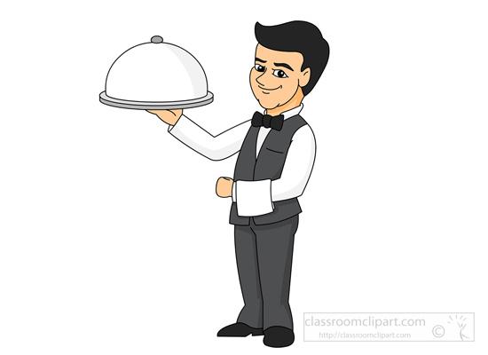 Waiter Clipart Images.