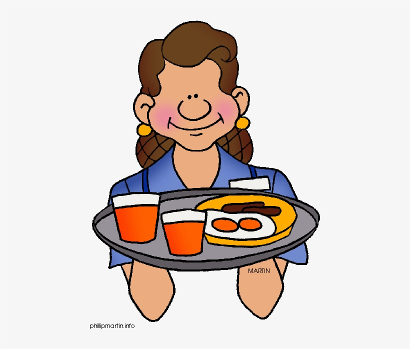 Pizza Clipart Waiter.
