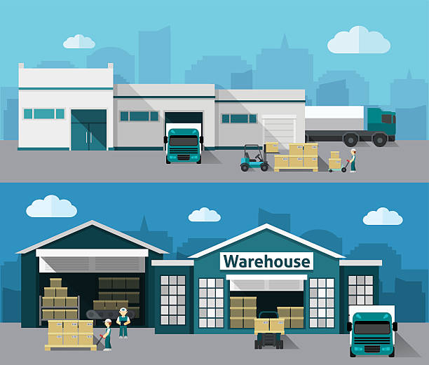 Warehouse clipart 1 » Clipart Station.