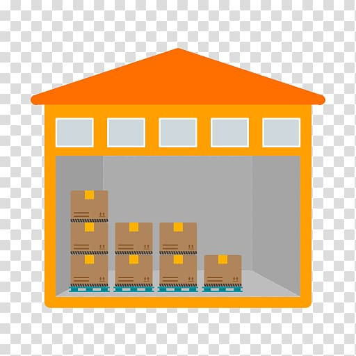 Warehouse Building Logistics Industry, warehouse transparent.