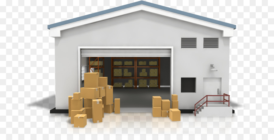 Warehouse Cartoon clipart.