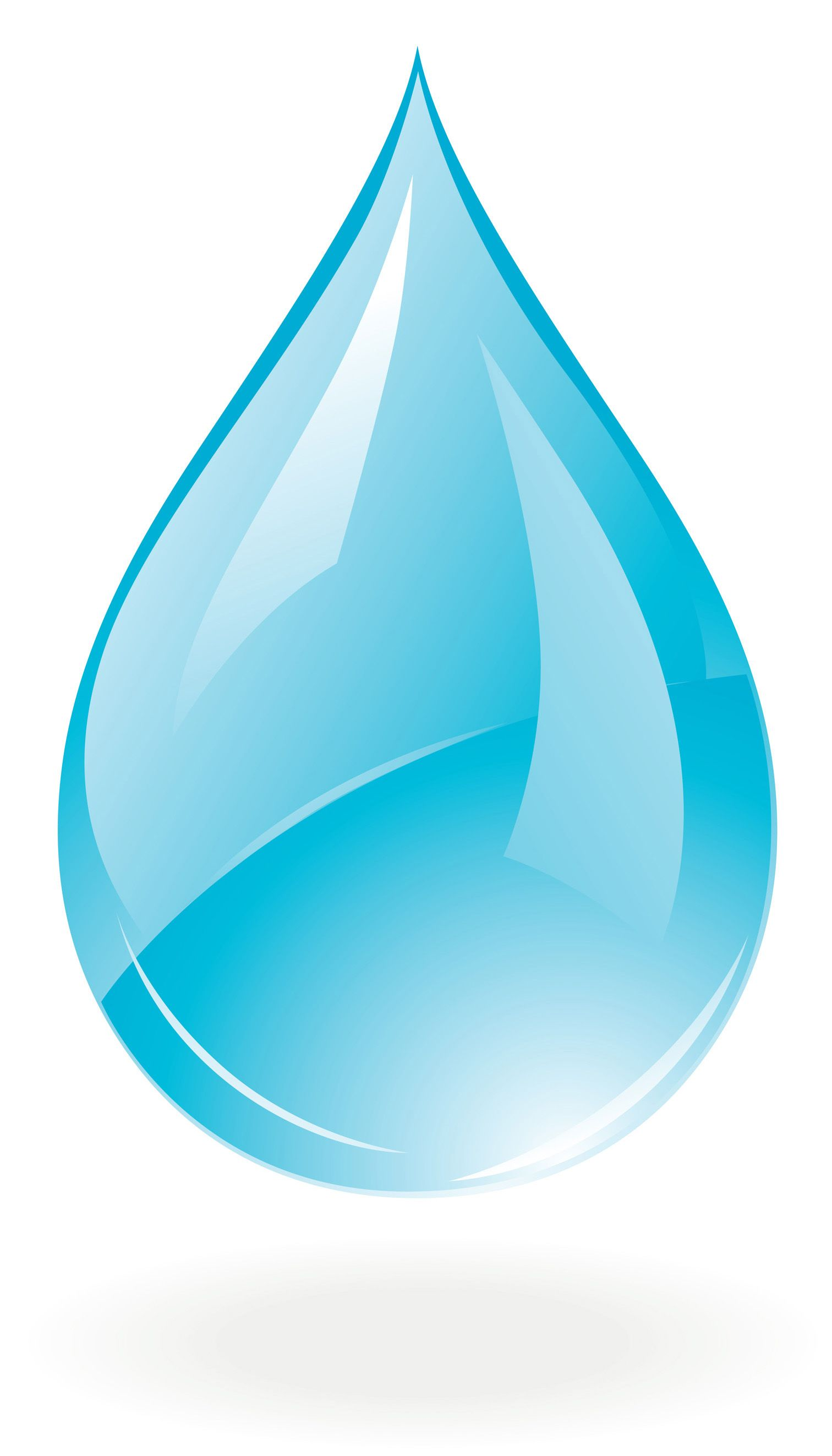 Water Drop Psd Clipart.