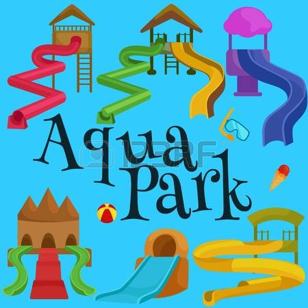 9,044 Water Park Stock Vector Illustration And Royalty Free Water.