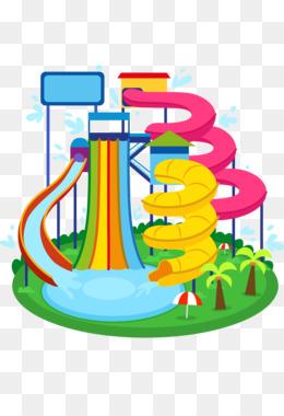 Water Slide PNG.